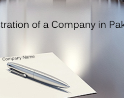 Registration of a company in Pakistan
